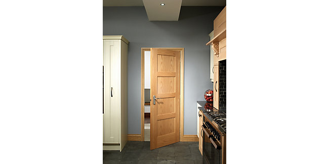Marlow Oak 4 Panel Shaker Internal Door