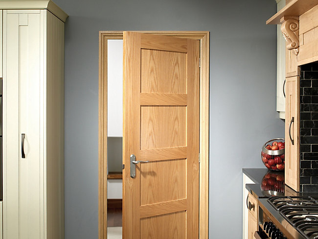Marlow Oak 4 Panel Shaker Internal Door 1981mm X 762mm