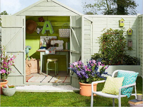 Add colour to your outdoor space
