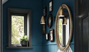 Bathrooms Decor - Paint & Lighting