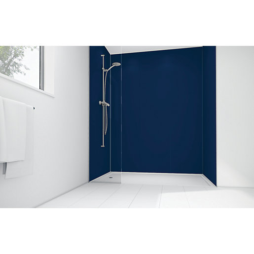 Mermaid Atlantic Matte Acrylic 2 Sided Shower Panel