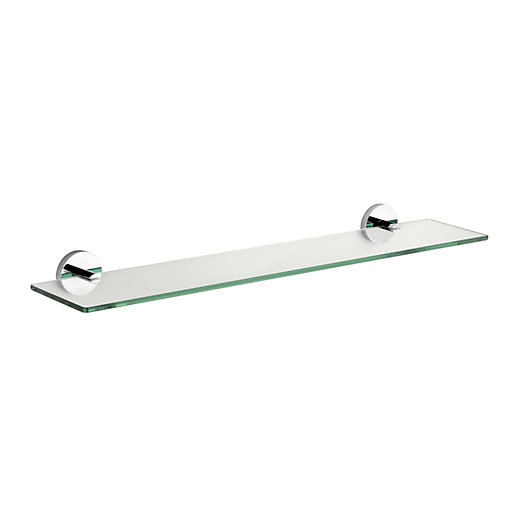 Croydex Pendle Flexi-fix Glass Shelf