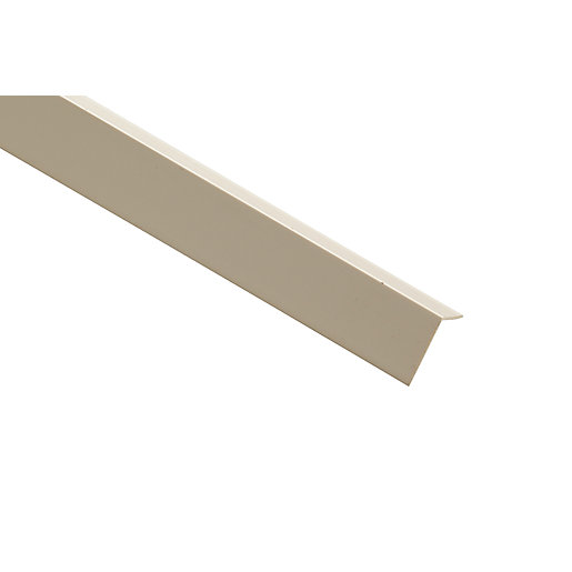 Wickes Pvc Angle Moulding 12mm X 12mm X 2 4m Wickes Co Uk