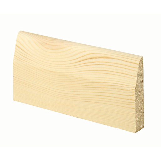 Wickes Chamfered Pine Architrave - 15mm x 69mm
