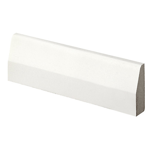 Wickes Chamfered Primed MDF Architrave - 14.5mm x