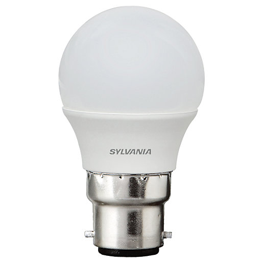 Sylvania LED Frosted B22 Mini-Globe Bulb - 5W