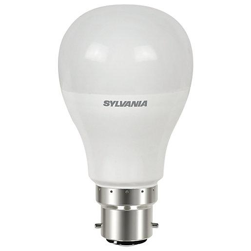 Sylvania LED GLS Dimmable Frosted B22 Light Bulb