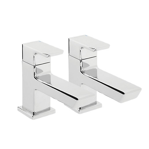 Bristan Cobalt Basin Taps - Chrome