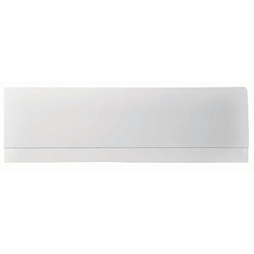 Wickes Reinforced Plastic Bath Front Panel - White