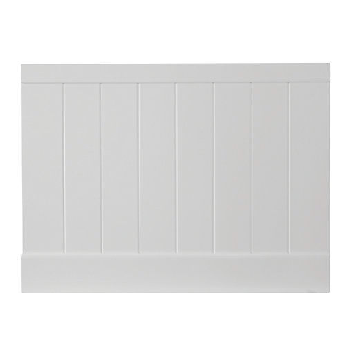 Wickes Tongue & Groove Bath End Panel -