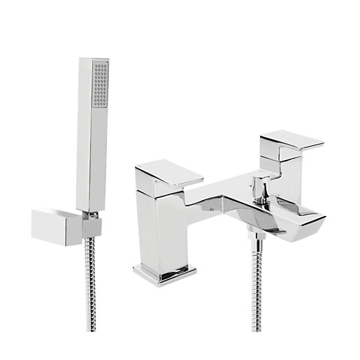 Bristan Cobalt Bath Shower Mixer Tap - Chrome