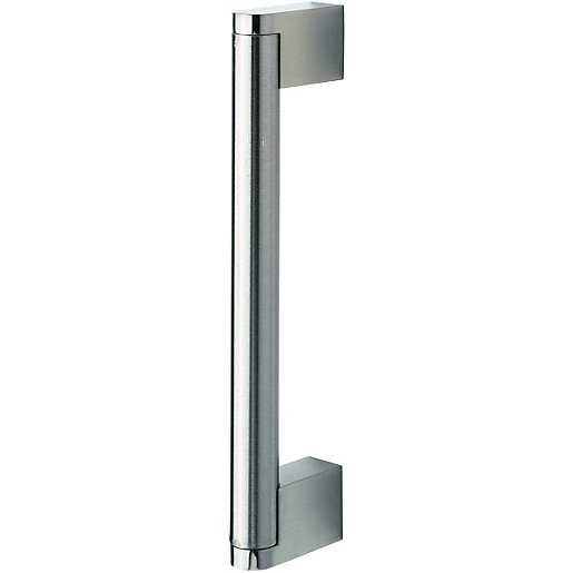 Wickes Stainless Steel Bar Handle for Bathrooms -