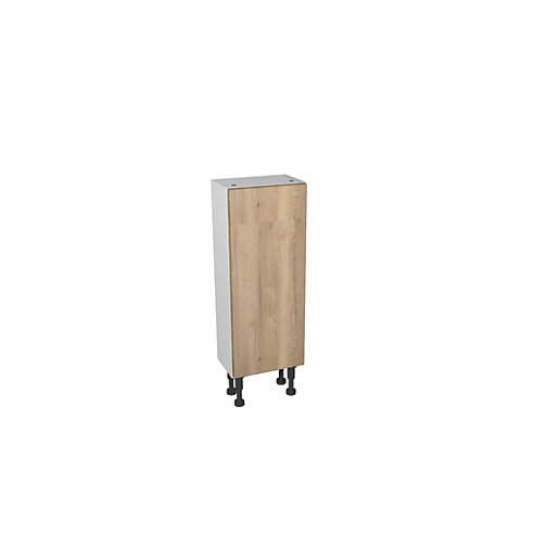 Wickes Vienna Oak Compact Floor Standing or Wall