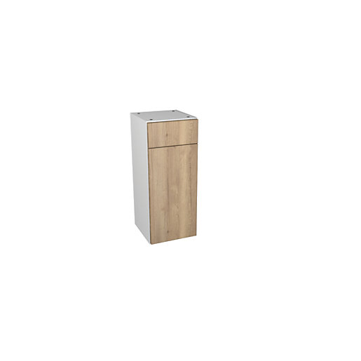 Wickes Vienna Oak Drawerline Floor Standing Storage Unit