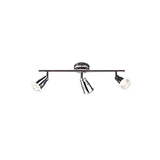 wickes bathroom light wickes 3 bar spotlight wickes co uk 15180