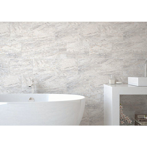 wickes bathroom wall tiles wickes amalfi slate grey ceramic tile 360 x 275mm wickes 21662