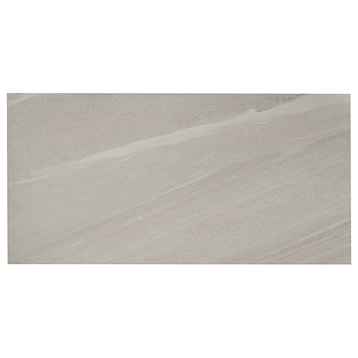 Wickes Olympia Grey Polished Sandstone Porcelain Wall &