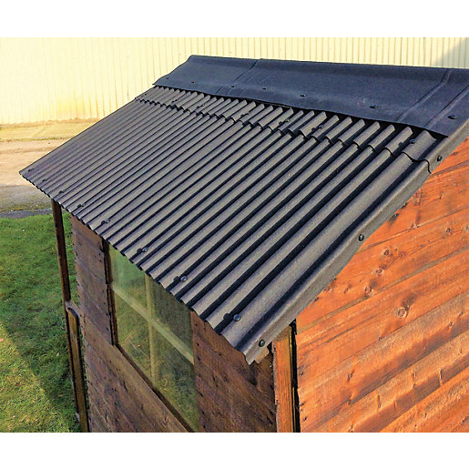 Watershed Roofing Kit For 6 X 6ft Apex Roof Wa08 400 217 Wickes Co Uk