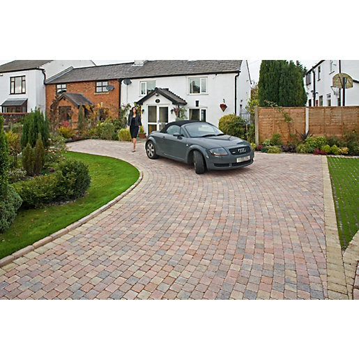Marshalls Drivesett Deco Textured Driveway Block Paving Pack