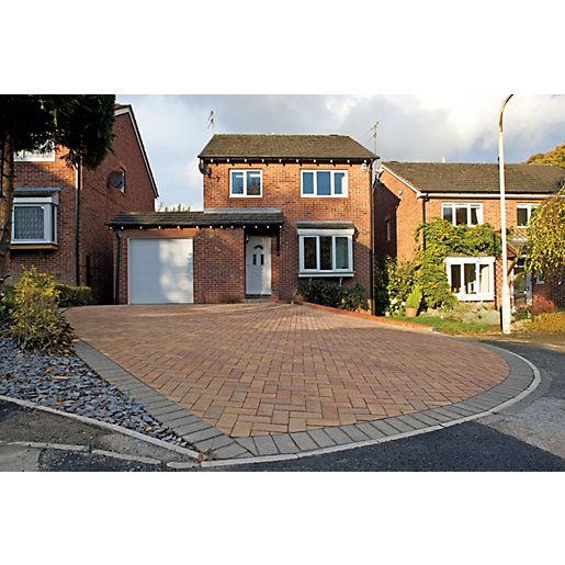 Marshalls Driveway Block Paving Pack - Sunrise 200