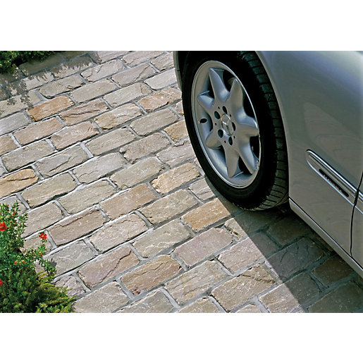 Marshalls Fairstone Tumbled Natural Stone Split Set Block