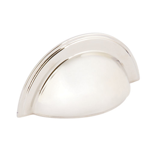 Wickes Ambrose Cup Handle - Polished Nickel