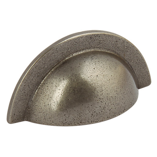 Wickes Beatrice Cup Handle - Pewter Effect