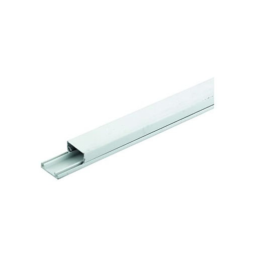 Wickes Mini Trunking White 25 X 16mm X 2m Wickes Co Uk