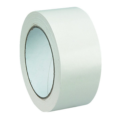 Wickes Double Sided Flooring Tape Cream 50mm x