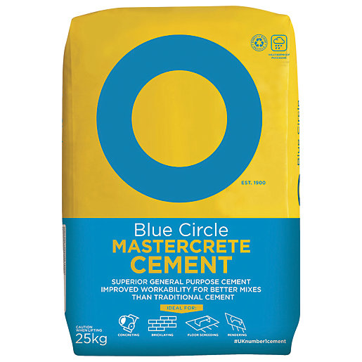 Blue Circle Mastercrete Cement - 25kg
