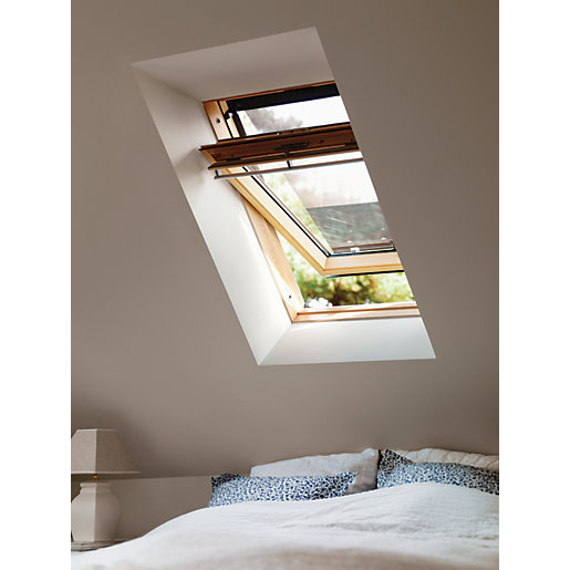 VELUX GGL MK06 3050 Roof Window Pine Centre
