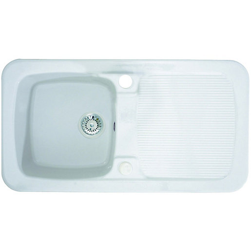 Ceramic Sinks | Kitchen Sinks | Wickes.co.uk