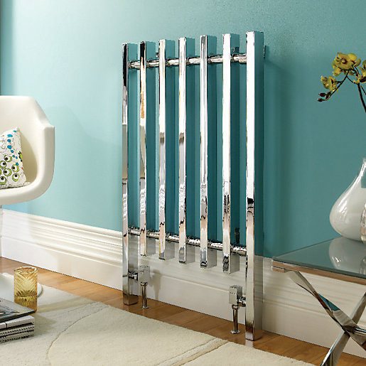 Wickes Dynasty Multi-Column Designer Radiator - Chrome 920