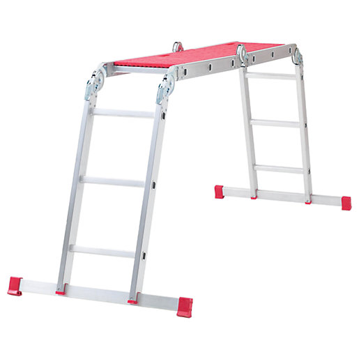 Werner 12 in 1 Aluminium Combination Ladder with