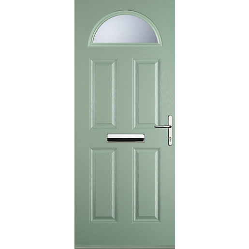 Euramax 4 Panel 1 Arch Chartwell Green Left