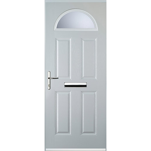Euramax 4 Panel 1 Arch White Right Hand