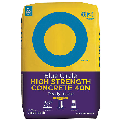Blue Circle High Strength Ready To Use Concrete
