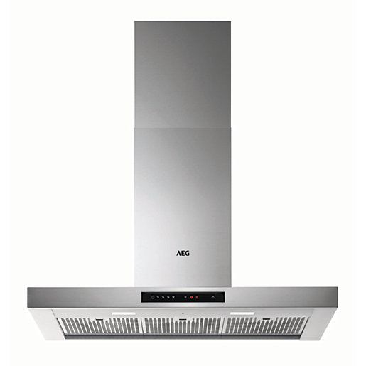AEG 90cm Chimney Stainless Steel Cooker Hood DBE6980HM