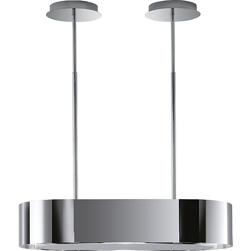 AEG Outline 90cm Island Chandelier Hood Chrome DLE0970M