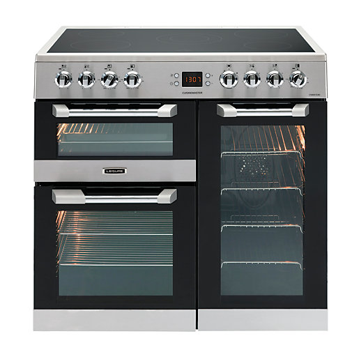 Leisure 90cm Cuisinemaster Electric Cooker Stainless Steel