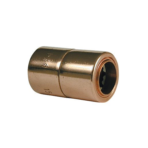 Wickes Copper Push Fit Reducer - 15 x