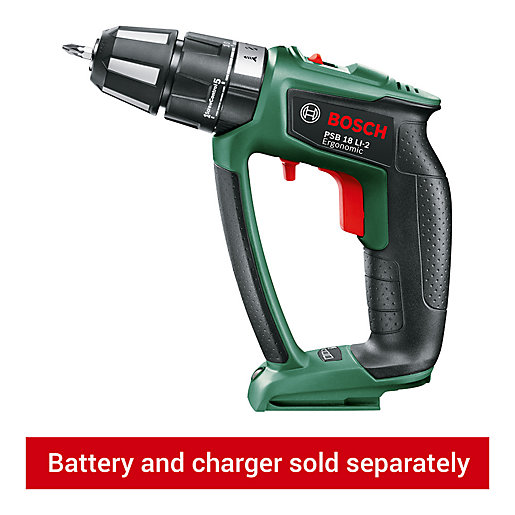 Bosch PSB 18V LI-2 Ergonomic Brushless Two-speed Cordless