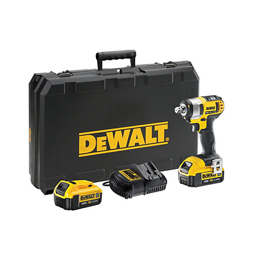 DEWALT 18V DCF880M2-GB XR Cordless Compact Impact Wrench