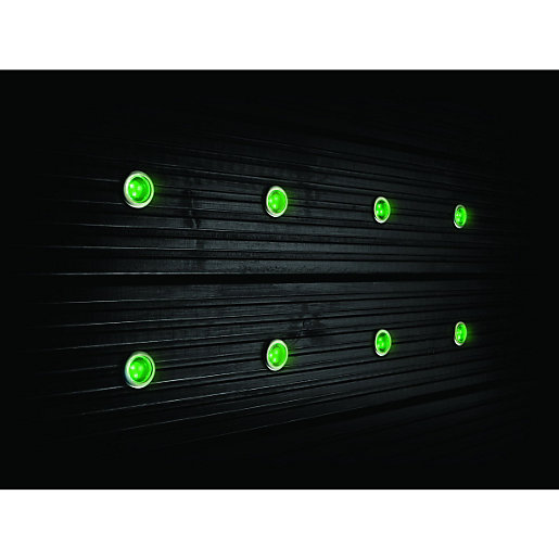 Decking lights exterior lights wickes wickes colour changing led deck light kit 32w aloadofball Choice Image