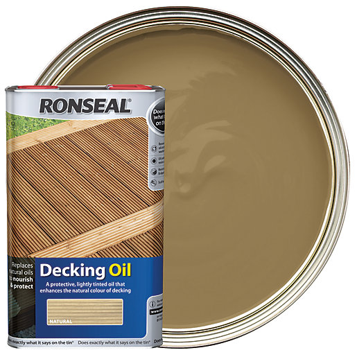 Ronseal Decking Oil - Natural 5L