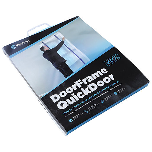 Protec Cleanscreen Door Frame Quick Door