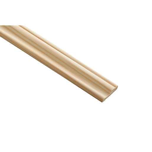 Wickes Pine 3 Rise Panel Moulding - 28mm