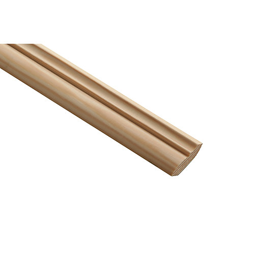 Wickes Pine Crown Moulding - 34mm x 12mm