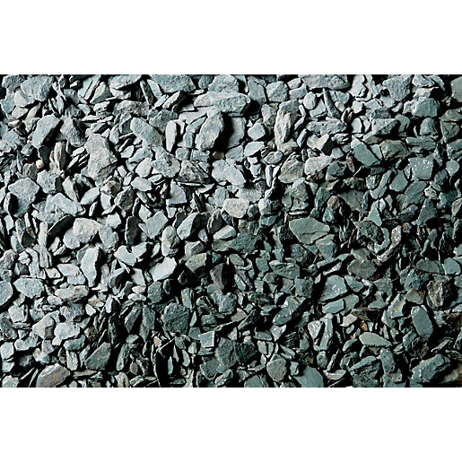 Names Of Decorative Stones : Wickes decorative green slate chippings jumbo bag