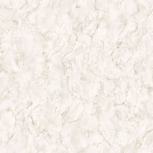 Boutique Marble Pale Gold Decorative Wallpaper - 10m
